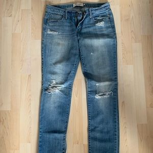 Medium wash A&F jeans